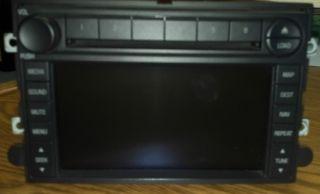 Ford OEM Navigation 6 Disc Changer Radio 2008 SuperDuty F250 F350