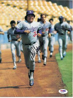 Fernando Valenzuela Autographed Page Dodgers PSA DNA