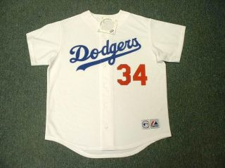 Fernando Valenzuela Dodgers Throwback Home Jersey XXL