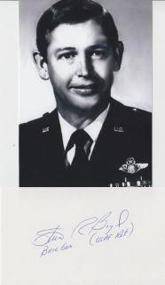 Stuart Boyd Test Pilot F 111, NASA, Vietnam flew 107 Combat Missions