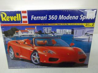 REVELL 1 24 SCALE FERRARI 360 MODENA SPIDER PLASTIC MODEL CAR KIT BNIB