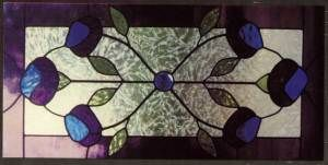 magazines are excluded stained glass supplies pattern victorian flower