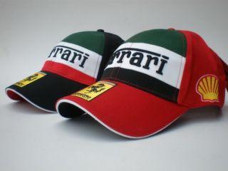 Ferrari Racing Adjustable Hat Baseball Cap Excellent Condition F1