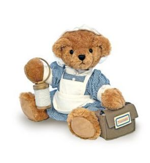 FLORENCE NIGHTINGALE COLLECTABLE TEDDY BEAR British Nurse Sold Out