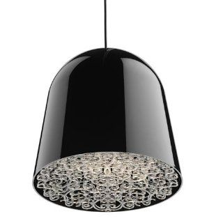 Flos Light Can Can Pendant Ceiling Light Black Clear