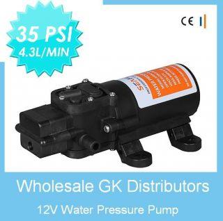Pressure System Automatic Pump Replaces Flojet 35 PSI 1 2 GPM