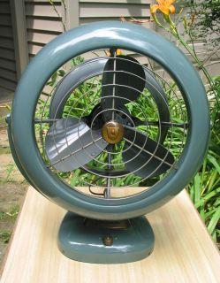 Vintage Vornado 3 Speed B28C1 1 Electric Floor Fan Deco Streamline