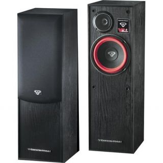 Pair Cerwin Vega ve 8F Floor Standing Speaker New 743658400791