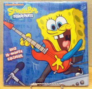 Nickelodeon Spongebob Squarepants 2013 16 Month Calendar