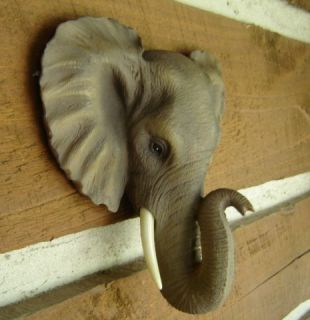 Elephant Flush Mount Wall Head Alabama Roll Tide