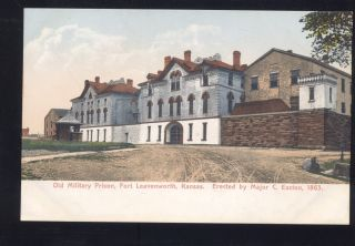Fort Leavenworth Kansas Old Military U s Army Prison Antique Vintage