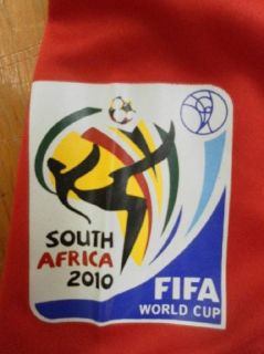 2010 FIFA World Cup South Africa Soccer Jersey Brand New w Tags XXXL