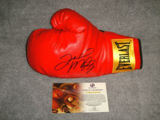 Floyd MAYWEATHER Jr Signed Everlast Boxing Glove GAI