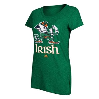 Notre Dame Fighting Irish Womens Macot Nickname Green T Shirt