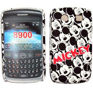 Disney Mickey Mouse Back Fluor Case by Blackberry 8900