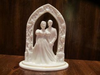 Lenox Figurine Cake Topper Lenox Bride Groom Porcelain Wedding