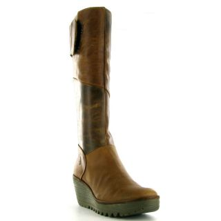Fly London Boos Yule Womens Boo Camel Sizes UK 4 8