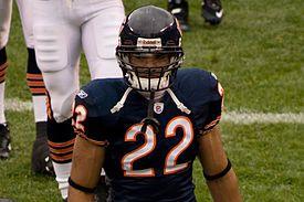 Matt Forte Chicago Bears Mini Helmet COA Hologram Authentic Genuine
