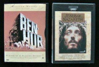 Nazareth 2 DVDs William Wyler Charlton Heston Franco Zeffirelli