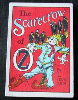 e Scarecrow of oz Frank Baum White Edition Book