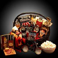 Man Gift Basket Jack Daniels Harley Davidson Gourmet Food