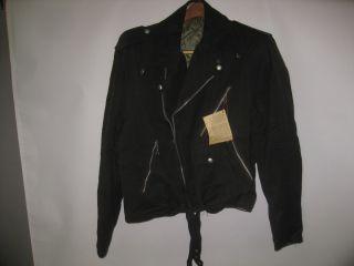 Vtg Jacob Finkelstein Narragansett Mens Motorcycle Bomber Jacket Size