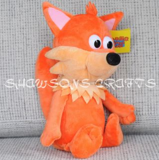 Timmy Time Plush Stuffed Toy 13 Finlay The Fox Soft Figure