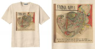RETRO FIONA APPLE PUNK ROCK ALBUM COVER T Shirt Vintage Look SIZE S M