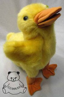 Duckling Hand Puppet Folkmanis Plush Toy Stuffed Animal Realistic Duck