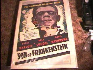 Son of Frankenstein Movie Poster R53 Boris Karloff