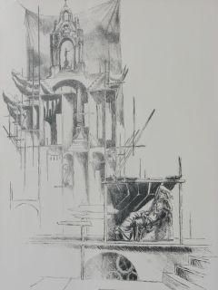 Limited Edition Lithograph Fine Art by Jack Frankfurter