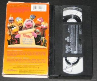 Disney Fraggle Rock The Muppets Castle Gorg Vol 4 VHS