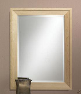 Maple Framed Bathroom Vanity Decorative Mirror New 530