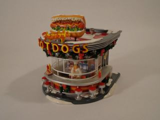 Department 56 Snow Village Frankys Hot Dogs