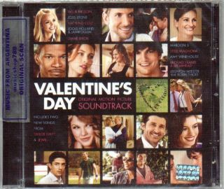 Valentines Day Soundtrack SEALED CD 2010 Taylor Swift