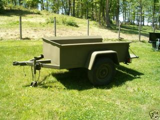 Military Style Jeep Trailer