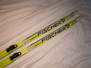 Fischer RCS Sprint Crown Cross Country Skis Length 150 cm Exc