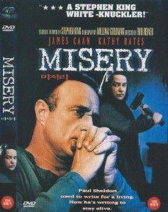 Misery 1990 James Caan DVD