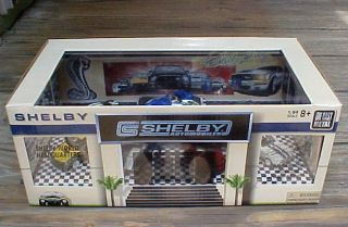 RARE 2009 LE Carroll Shelby Ford Mustang Cobra 7 Car Diecast Showroom