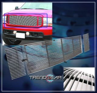 99 04 Ford F250 F350 F450 F550 Excursion Front Upper Billet Grille 00