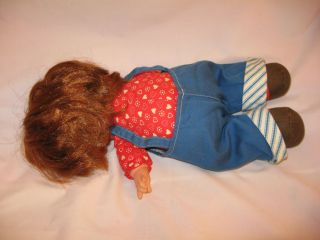 Vintage 1970s Fisher Price Lapsitter Audrey Baby Doll #203 in Original