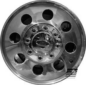 Refinished Ford F250 Super Duty 2005 2006 17 inch Whee