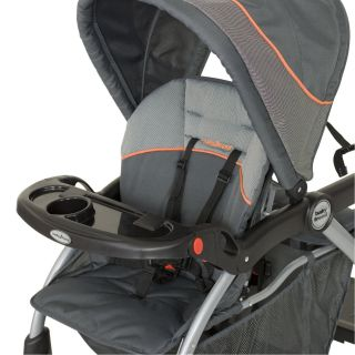 Trend Sit N Stand Deluxe Double Stroller Vanguard SS74740 New