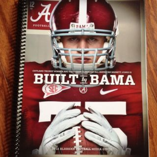 Alabama Crimson Tide Football Media Guide 2012