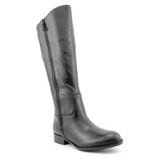 Franco Sarto Rocket Womens Size 5 Black Leather Fashion   Knee High