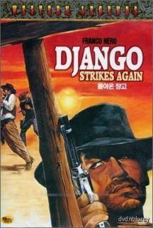 Django 2 Django Strikes Again DVD 1987 New Franco Nero