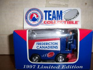 1997 White Rose Collectible Fredericton Canadiens Zamboni