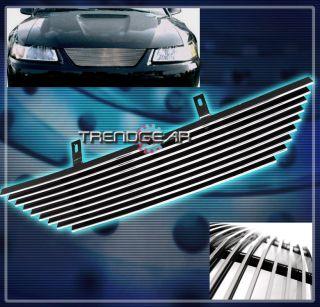 1999 2004 Ford Mustang Coupe Convertible V6 V8 Upper Billet Grille 00