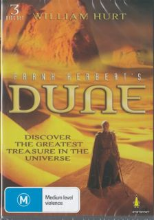 Dune Frank Herbert 3 Disc Set Complete Original Series New SEALED DVDs