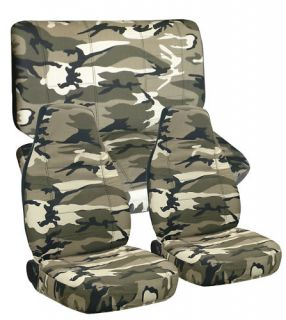 Ford Ranger Truck Seat Covers 60 40 in Camo 13 Front and Rear Choose